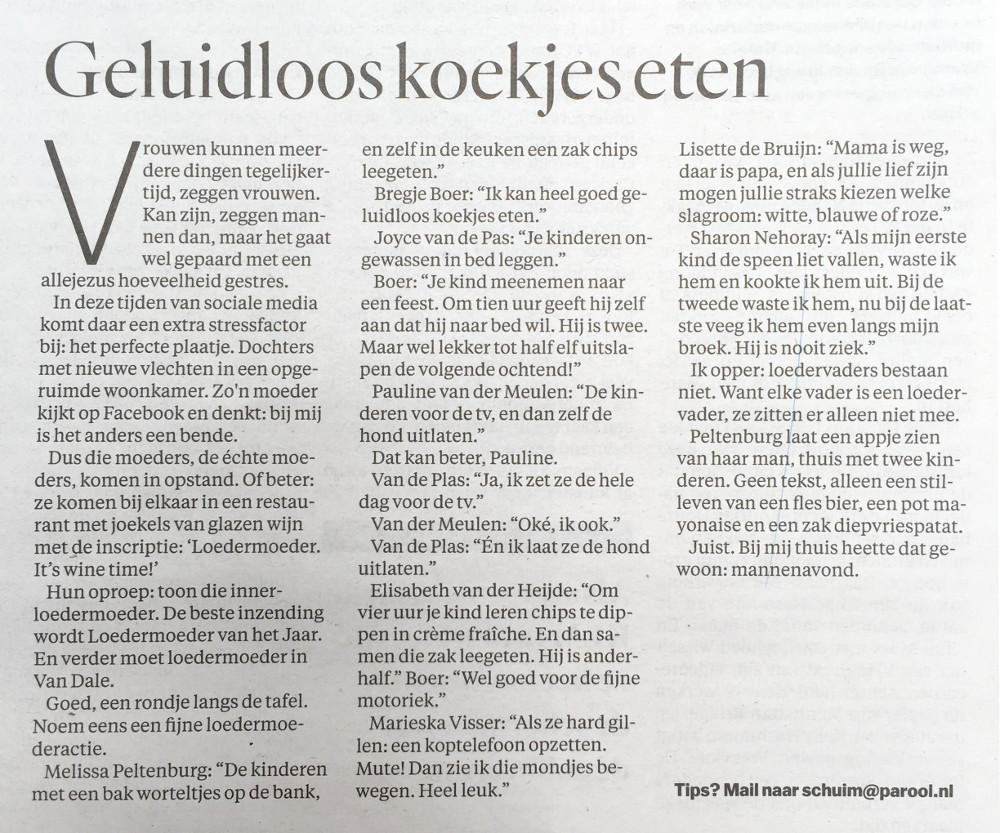 loedermoeder in het nieuws - loedermoeder.nl